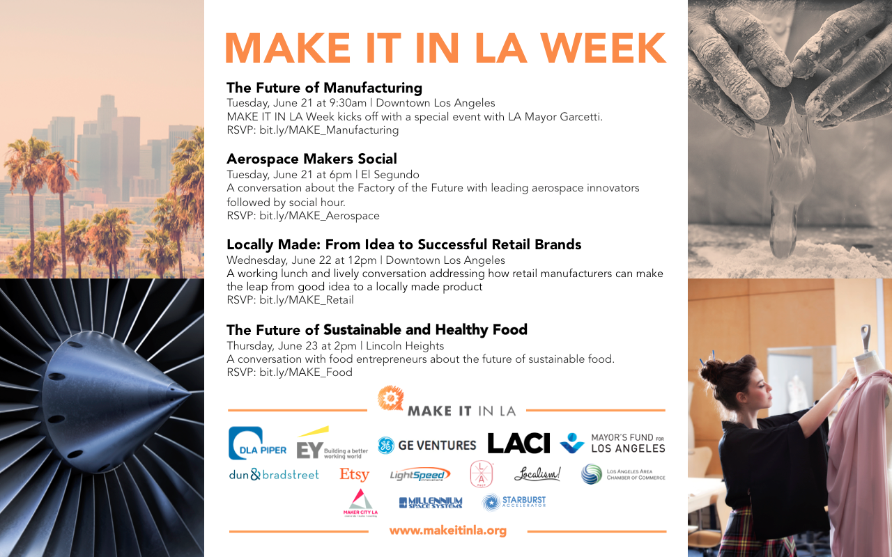 MAKE IT IN LA - Calendar of Events