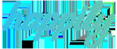 happily logo 408x170