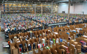 Amazon facility in Madrid